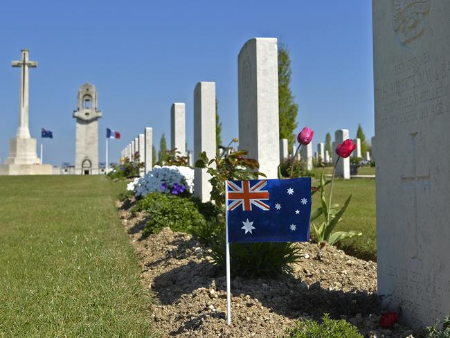 The Sir John Monash centre close to the Australian National Memorial site near the town of Villers-Bretonneux in Northern France. Picture: David Dyson