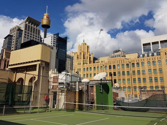 Tennis on the roof, anyone?