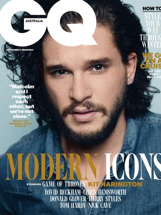 Somehow, someone else made the cover of GQ.