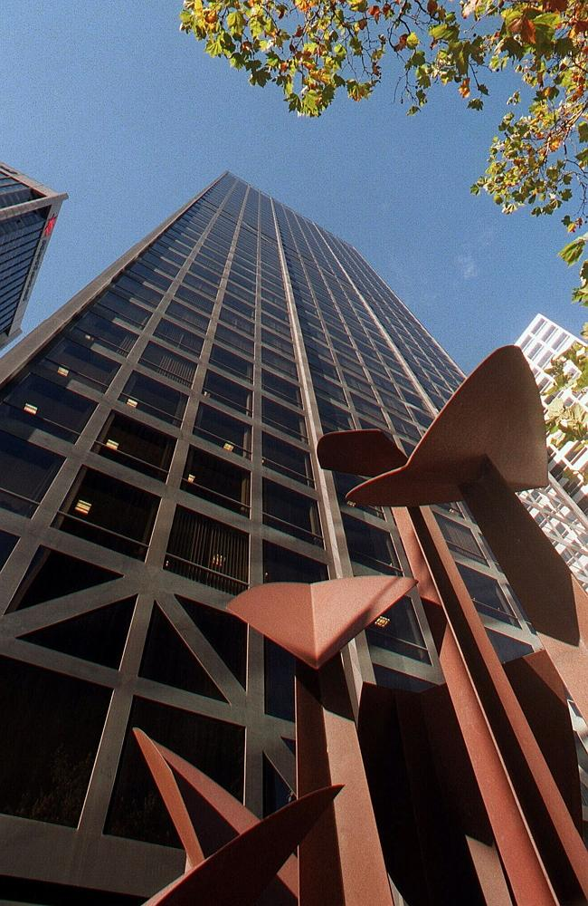From 1969-72 BHP's Melbourne offices were located at 140 William St where the Menzies Hot