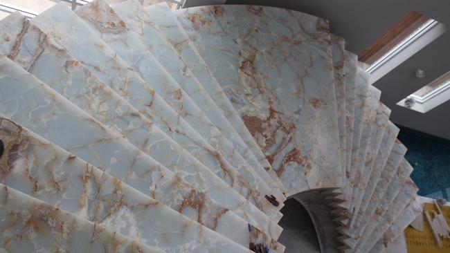 Salim Mehajer owes an outstanding debt for his Onyx Staircase.