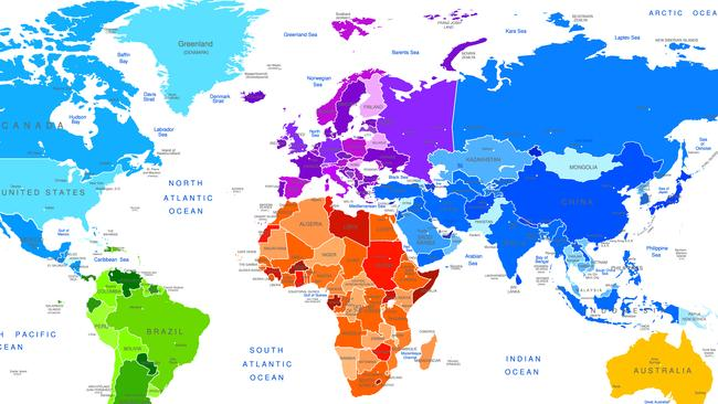 Why The Map Of The World Is Not As Accurate As You Think - Map of the wirld