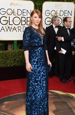 Jurassic World's Bryce Dallas Howard arrives at the 73rd annual Golden Globe Awards, January 10, 2016, at the Beverly Hilton Hotel in Beverly Hills, California. Picture: AFP PHOTO / VALERIE MACON