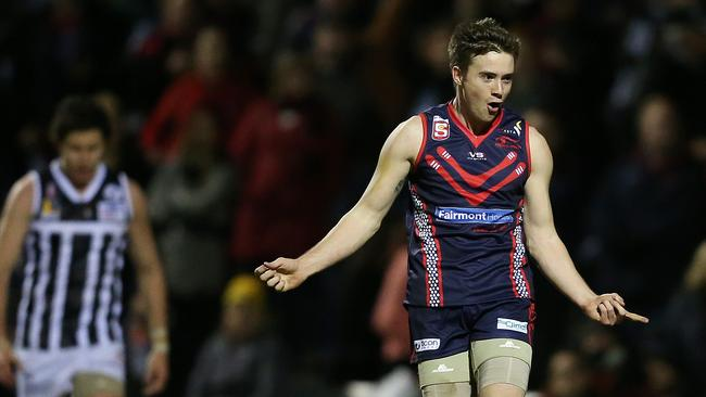 Josh Donohue is in Norwood's squad to play Port Adelaide. Picture: Sarah Reed.