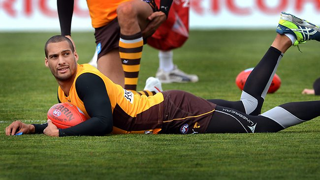 Josh Gibson says all AFL players need to be able to trust their club's medical staff. Picture: Wayne Ludbey