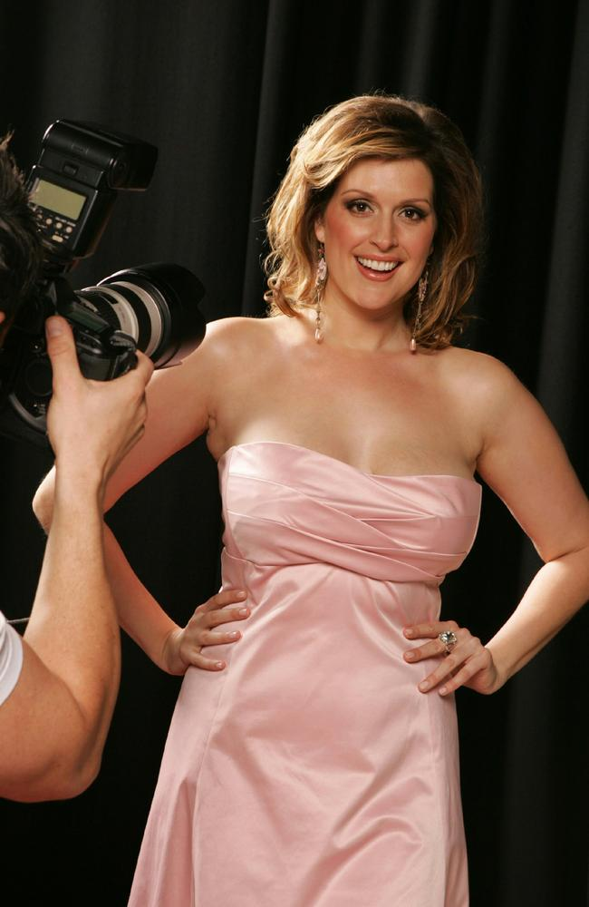'He was awkward with women' ... Kate Fischer was a high-profile star when she worked with Burke.