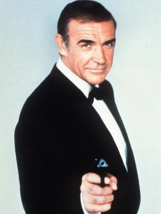 Sean Connery originated the role of James Bond. Picture: Supplied