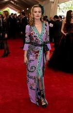 """Georgia May Jagger attends the Met Gala 2015 """"China: Through The Looking Glass"""". Picture: Getty"""