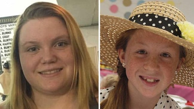 Liberty German and Abigail Williams' bodies were discovered in the Deer Creek area in Indiana. Picture: Facebook