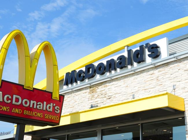 (FILES) This file photo taken on September 10, 2016 shows the McDonald's restaurant in Gettysburg, Pennsylvania. McDonald's reported higher second-quarter profits July 25, 2017 behind strong comparable sales in key markets, including the United States, where the chain has launched new products and focused on customer service.  Net income for the quarter ending June 30 was $1.4 billion, up 28 percent from the year-ago period in results that easily topped analyst expectations. Shares rose sharply in pre-market trading.  / AFP PHOTO / Karen BLEIER