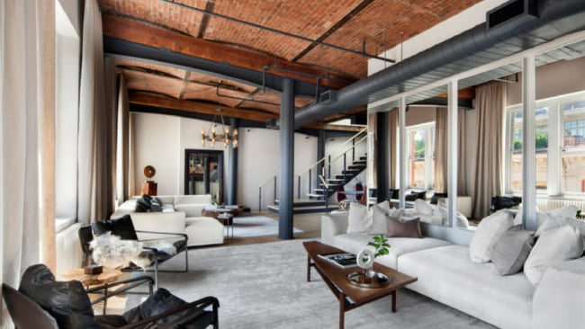 The beauty of Zayn's new apartment is matched only by his own beauty. Photo: Stribling Marketing Associates