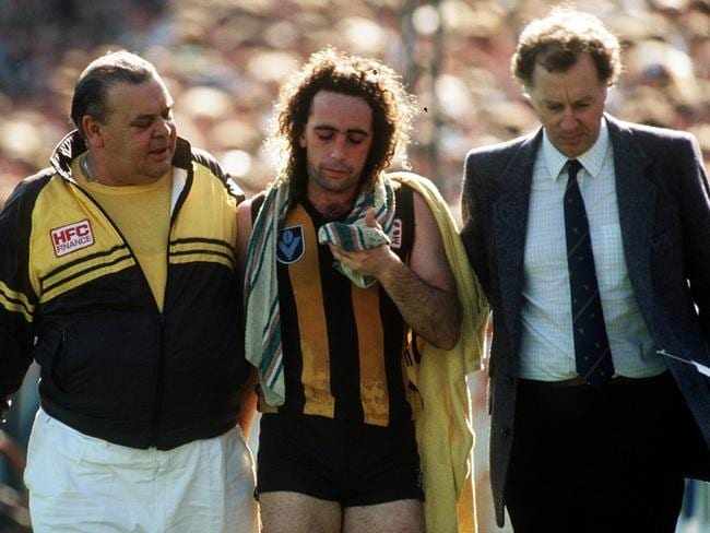 John Platten was one of many who felt the intensity of the 1989 Grand Final.