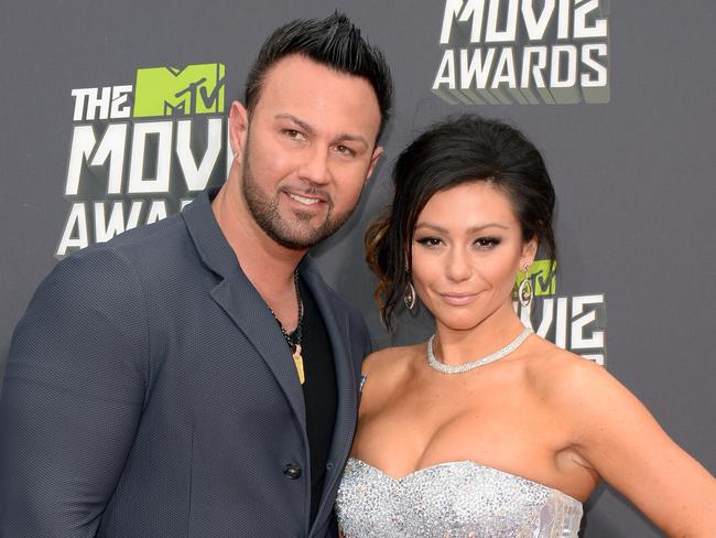 Jenni JWoww Farley of reality series Jersey Shore.