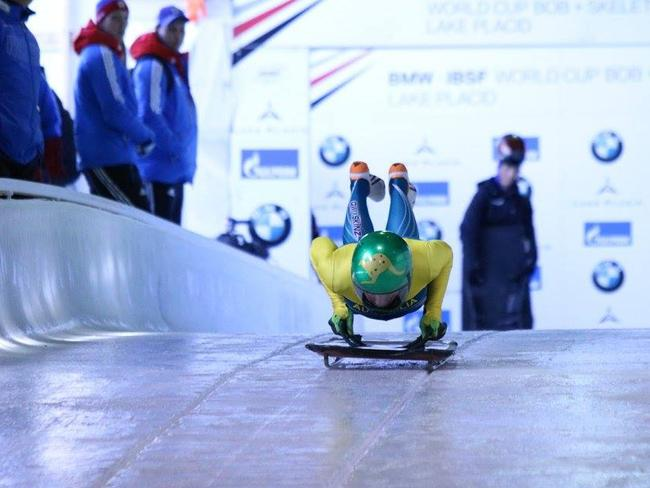 Jackie Narracott is hoping to represent Australia in the 2018 Winter Olympics in PyeongChang, but ticket sales are well below target. Picture: Ken Childs