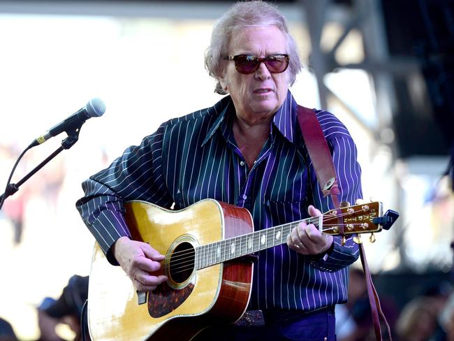 Performer ... Don McLean is best known for his hit American Pie. Picture: Frazer Harrison/Getty Images for Stagecoach