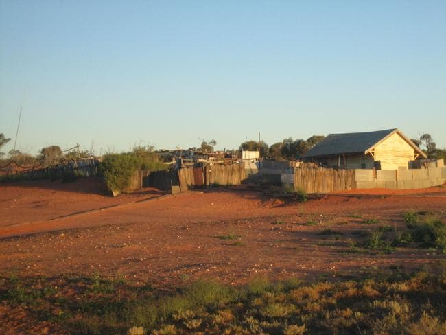The abandoned town of Cook. Picture: Sheila Thomson