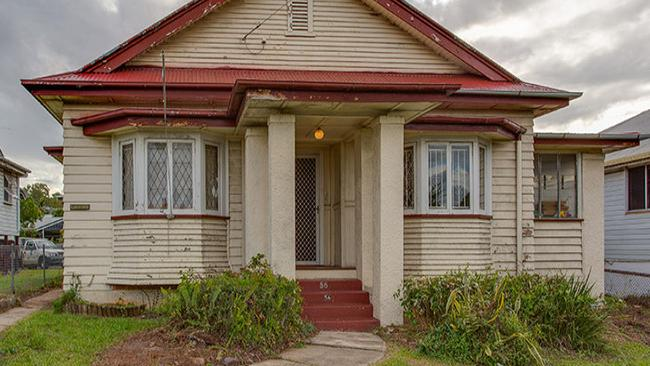 The pre-war home at 56 Grange Road, Grange is attracting renovators. Picture: realestate.com.au