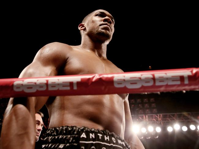 Anthony Joshua is a physical beast. (Photo by Scott Heavey/Getty Images)