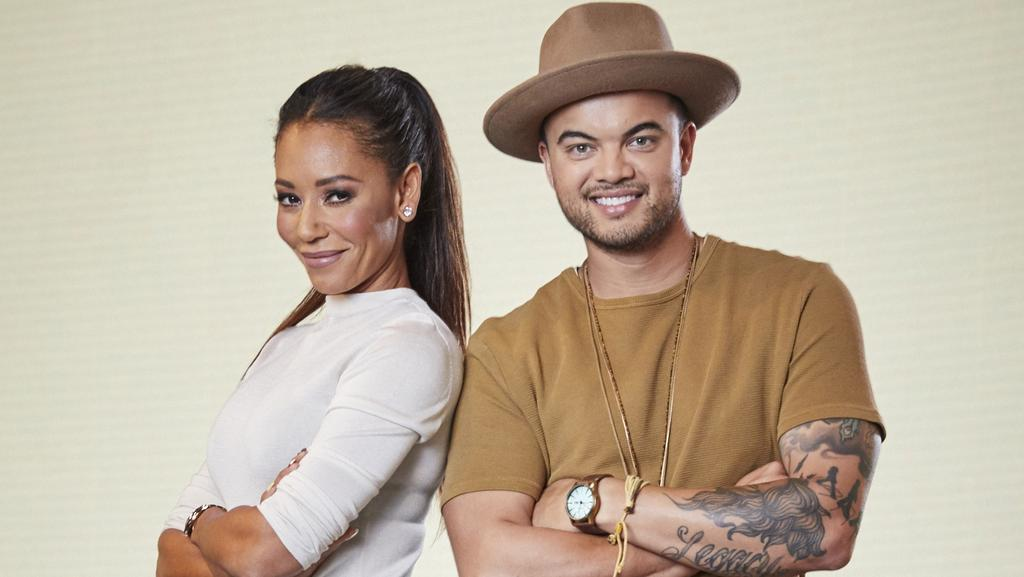 Mel B doesn't muck around finding her feet on return to ...
