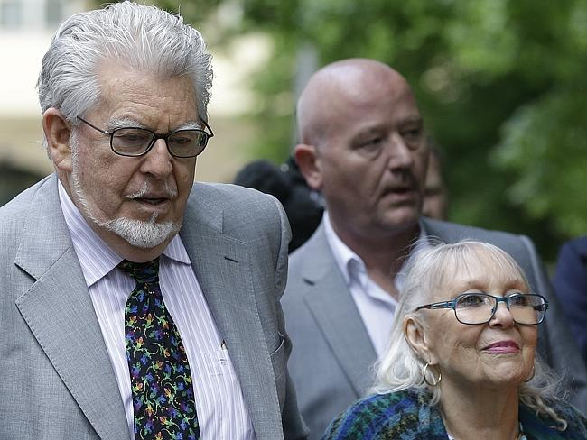 Pleads not guilty ... Veteran Australian entertainer Rolf Harris is charged with indecent