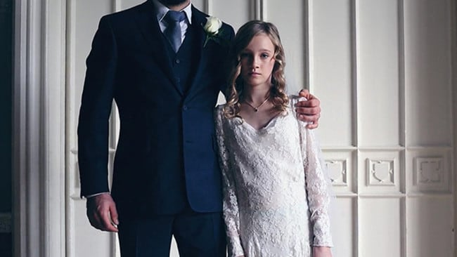 A clip about child marriage has been produced by Bridal Musings, one of the world's most influential wedding blogs, for UNICEF in a bid to save thousands of young girls.