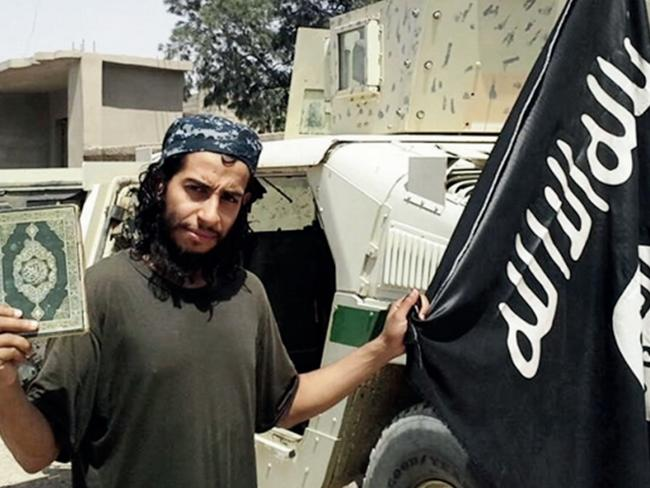 High status ... ISIS jihadists like Abdelhamid Abaaoud, the mastermind behind the Paris attacks, are looked on as Prince Charmings by the brainwashed women. Picture: AP