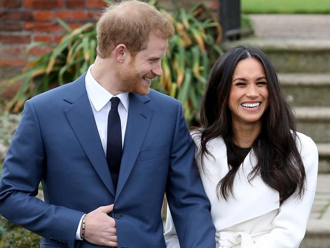 Prince Harry and actress Meghan Markle. Picture: Getty