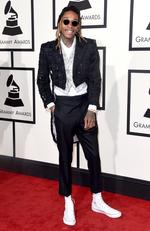 Wiz Khalifa attends The 58th GRAMMY Awards at Staples Center on February 15, 2016 in Los Angeles. Picture: Getty