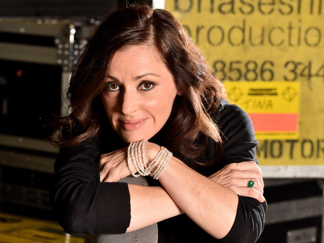 "Tina Arena has realised she was too hard on herself after cringing at her work as an ""awkward teenager"". Picture: Jay Town"