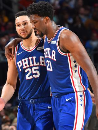 Can Ben Simmons and Joel Embiid emulate the 1994 Orlando Magic and make it all the way to the NBA Finals? Picture: NBAE via Getty Images