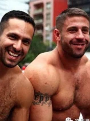 Ruggero Freddi and Gustavo Alejandro Leguizamon have been together for 11 years. Picture: Supplied