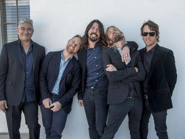 The Foo Fighters ... The band knows how to stand up to the haters, while still having a good time.