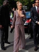 American actress Kate Hudson arrives to attend the Giorgio Armani Prive show as part of Paris Fashion Week - Haute Couture Fall/Winter 2014 in Paris, France. Picture: AP