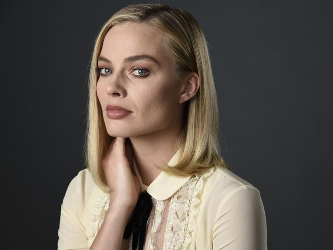Margot Robbie, pictured at The Hollywood Roosevelt Hotel in Los Angeles last week, is being tipped as an Oscars contender.
