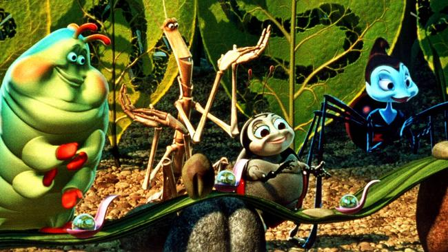 A scene from animated film A Bug's Life. Picture: Supplied.