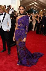 """Joan Smalls attends the Met Gala 2015 """"China: Through The Looking Glass"""". Picture: Getty"""