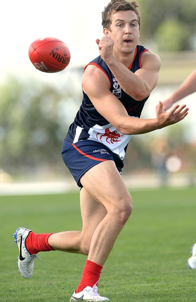 Jack Trengove was dropped from the senior side after the Round 2 loss to West Coast.