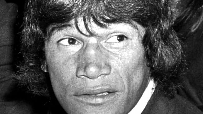 Former world middleweight boxing champion Carlos Monzon.