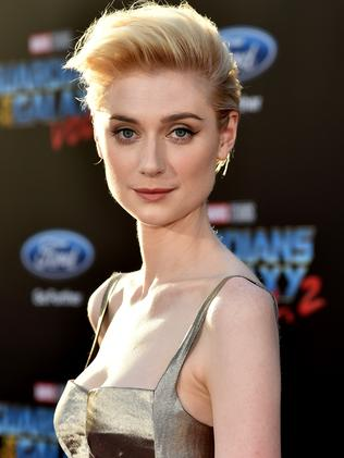 Elizabeth Debicki is the Togies best actor. Picture: Frazer Harrison/Getty Images