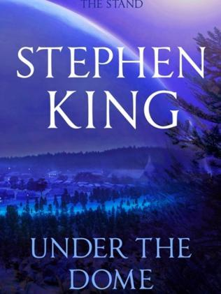 Book cover of Under The Dome by Stephen King.