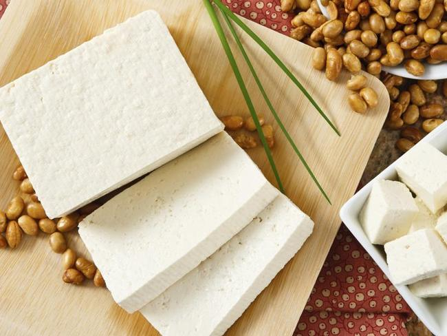 Tofu ... An acid in tofu can block the absorption on important minerals.