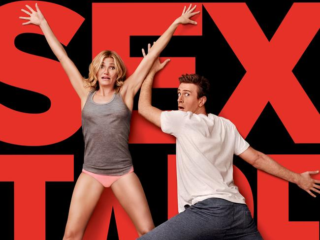 Cameron Diaz and Jason Segel star in Sex Tape.