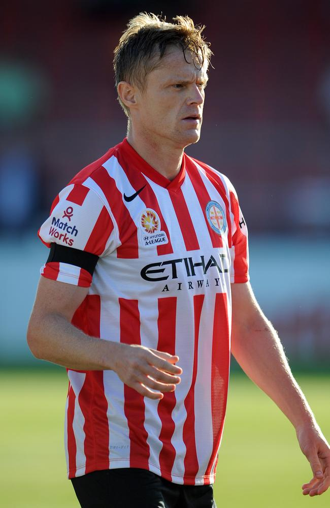 Damien Duff played his first match for Melbourne City today.