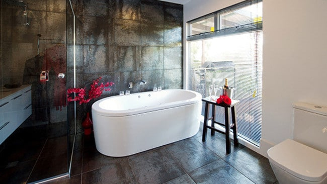 Carole adored the bath that was included in her luxury ensuite.