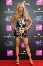 Havana Brown arrives on the red carpet for the 31st Annual ARIA Awards 2017 at The Star on November 28, 2017 in Sydney, Australia. Picture: Richard Dobson