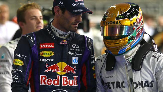 Webber gives an insight into the Mercedes war.