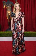 Actor Brie Larson attends the 24th Annual Screen Actors Guild Awards at The Shrine Auditorium on January 21, 2018 in Los Angeles, California. Picture: Dimitrios Kambouris/Getty Images for Turner Image