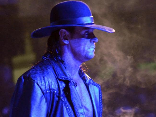 The Undertaker during WrestleMania XXVII at Georgia Dome in Atlanta.
