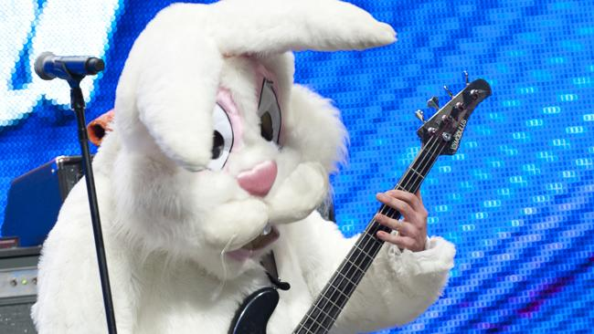 Is the Funky Bunny ears ahead of his time?