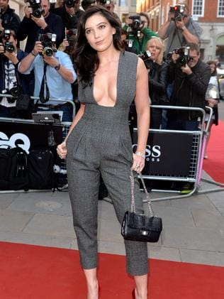 Daisy Lowe attends the GQ Men of the Year awards.